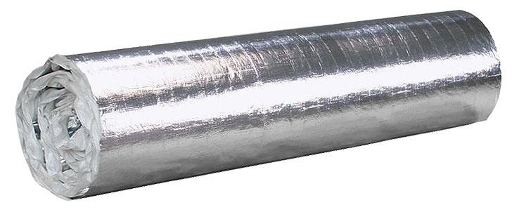 утеплитель с двухсторонним алюминиевым покрытием